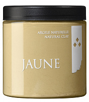 Желтая глина 550гр./ Argile naturelle JAUNE / Yellow natural clay